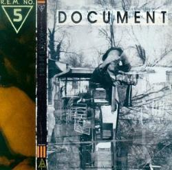 R.E.M. - Document CD Cover Art