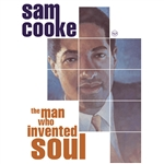 Cooke, Sam - Man Who Invented Soul CD Cover Art