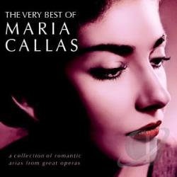 Callas, Maria - Very Best of Maria Callas CD Cover Art