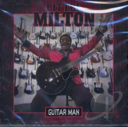 Little Milton - Guitar Man CD Cover Art