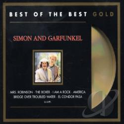 Simon & Garfunkel - Greatest Hits (Gold Disc) CD Cover Art