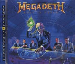 Megadeth - Rust in Peace CD Cover Art
