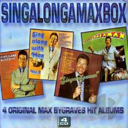 Bygraves, Max - Singalongamaxbox CD Cover Art