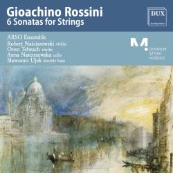 Arso Ensemble / Rossini - Rossini: 6 Sonatas for Strings CD Cover Art