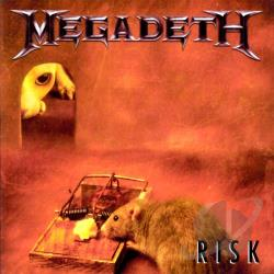 Megadeth - Risk CD Cover Art