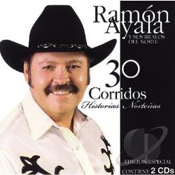 Ayala, Ramon - 30 Corridos: Historias Nortenas CD Cover Art