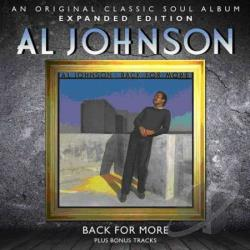 Johnson, Al - Back for More CD Cover Art