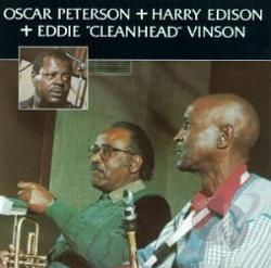 Peterson, Oscar - Oscar Peterson with Harry Edison & Eddie Vinson CD Cover Art