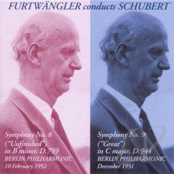 Berlin Philharmonic / Furtwangler / Schubert - Furtwangler conducts Schubert CD Cover Art