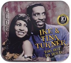 Ike & Tina Turner / Turner, Ike / Turner, Tina - Too Hot To Hold CD Cover Art