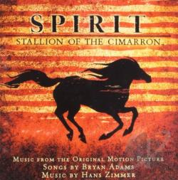 Spirit: Stallion Of The Cimarron CD Cover Art