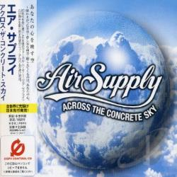 Air Supply - Across the Concrete Sky CD Cover Art