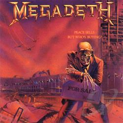 Megadeth - Peace Sells...But Who's Buying? CD Cover Art