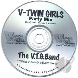 V.T.G. Band - Official V-Twin Girls Party Theme-event Mix CD Cover Art