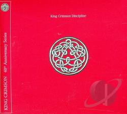 King Crimson - Discipline DVA Cover Art