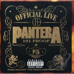 Pantera - Official Live: 101 Proof CD Cover Art