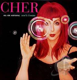 Cher - All Or Nothing DS Cover Art