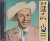 Reeves, Jim - Live At The Opry CD Cover Art