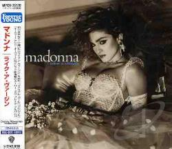 Madonna - Like a Virgin CD Cover Art