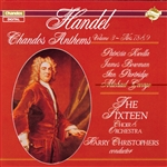 Handel / Kwella - Handel: Chandos Anthems, Vol. 3 - Nos. 7, 8 & 9 CD Cover Art