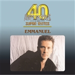 Emmanuel - 40 Artistas CD Cover Art
