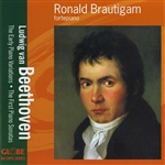 Brautigam, Ronald - Beethoven: The Early Piano Variations; The First Piano Sonatas CD Cover Art