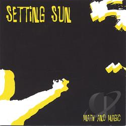 Sun, Setting - Math and Magic CD Cover Art