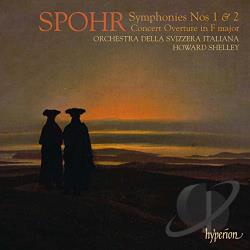 Orchestra Della Sviz - Spohr: Symphonies Nos. 1 & 2; Concert Overture in F major CD Cover Art