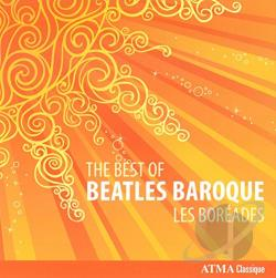 Boreades - Best of Beatles Baroque CD Cover Art