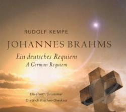 Brahms / Kempe - Brahms: Ein deutsches Requiem CD Cover Art