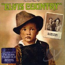 Presley, Elvis - Elvis Country CD Cover Art