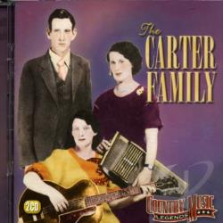 Carter Family - Country Music Legends CD Cover Art