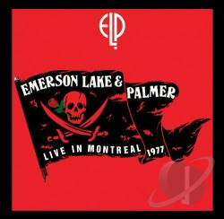 Emerson, Keith / Emerson, Lake, And Palmer - Live in Montreal, 1977 CD Cover Art