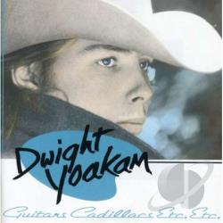 Yoakam, Dwight - Guitars, Cadillacs, Etc., Etc. CD Cover Art