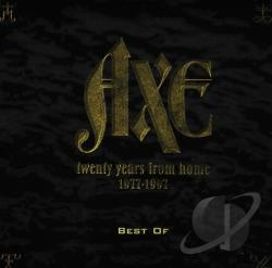 Axe - 20 Years from Home - 1977-1997: Best of Axe CD Cover Art