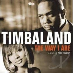 Timbaland - Way I Areaus CD Cover Art