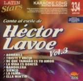 Lavoe, Hector - Vol. 3 - Karaoke Latin Stars CD Cover Art