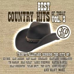 Best Country Hits Of Today - Best Country Hits Of Today Vol. 3 - Best Country Hits Of Today CD Cover Art