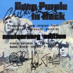 Deep Purple - Deep Purple in Rock CD Cover Art