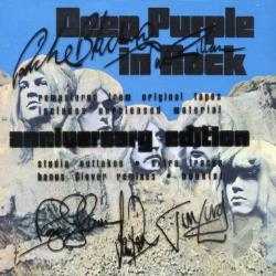Deep Purple (Rock) - Deep Purple in Rock CD Cover Art
