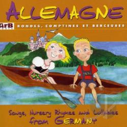 Germany: Songs, Nursery Rhymes & Lullabies CD Cover Art