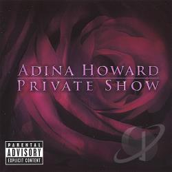 Howard, Adina - Private Show CD Cover Art