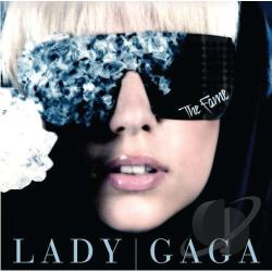 Lady Gaga - Fame CD Cover Art