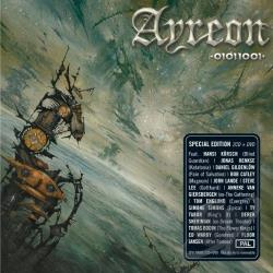 Ayreon - 01011001 CD Cover Art