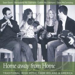 NicGaviskey - Home Away from Home CD Cover Art