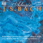 Bach - Adagio: J.S. Bach CD Cover Art