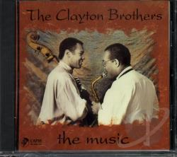 Clayton Brothers - Music CD Cover Art