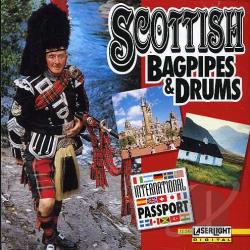 Scottish Bagpipes & Drums CD Cover Art