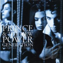 Prince / Prince & the New Power Generation - Diamonds and Pearls CD Cover Art