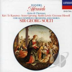 Solti, Georg Sir - Handel: Messiah (Arias and Choruses) CD Cover Art